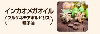 インカオメガオイル(プルケネチアボルビリス種子油):アーモンドの5倍のビタミンE