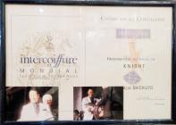 2010フランスシュバリエ褒章